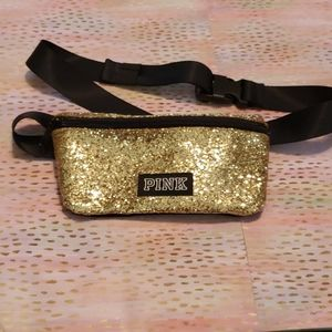🕶 2/$20 Pink gold glitter fanny pack